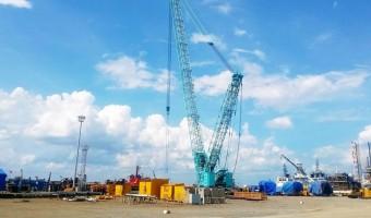 Nâng cấp bãi xưởng chế tạo cảng hạ lưu PTSC