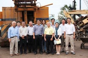Đội ngũ Kỹ Sư TELICO JSC và chuyên gia công nghệ từ Nhật Bản