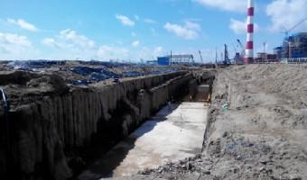 Hoàn thành Kênh Xả – Nhà máy Nhiệt Điện Duyên Hải 3