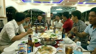 Tất niên tại công trường Vinmec Nha Trang