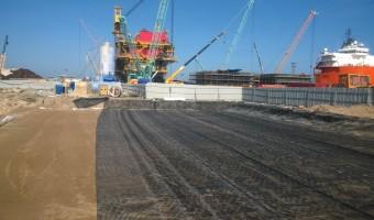 Hoàn thành Dự án Nâng cấp bãi xưởng chế tạo cảng hạ lưu PTSC
