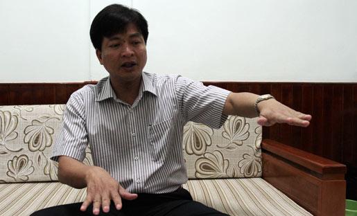 Ông Lê Minh Cường – GĐ BQL dự án đầu tư và xây dựng TP.Cần Thơ - Ảnh: Q.Huy