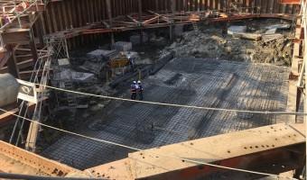 Thi công cọc CDM ở dự án River Panorama